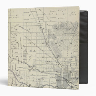 """Mapa de la sección de T21S R27E el condado de Carpeta 1 1/2"""""""