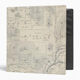 """Mapa de la sección de T21S R28E el condado de Carpeta 1 1/2"""""""