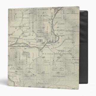 """Mapa de la sección de T21S R29E el condado de Carpeta 1 1/2"""""""