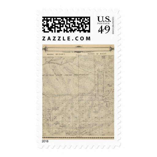 Mapa de la sección de T2223S R3031E el condado de Sellos Postales