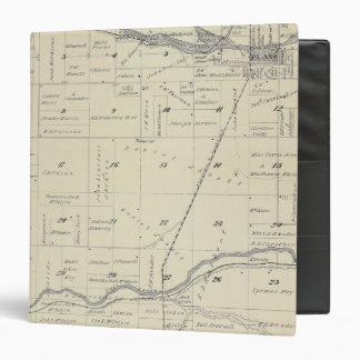 Mapa de la sección de T22S R27E el condado de Tula