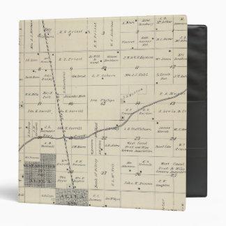 """Mapa de la sección de T23S R25E el condado de Tula Carpeta 1 1/2"""""""