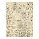 Mapa de la sección de T24S R1619E el condado de Postal