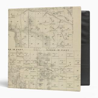 """Mapa de la sección de T24S R1619E el condado de Tu Carpeta 1 1/2"""""""