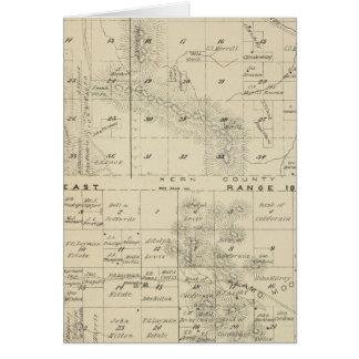 Mapa de la sección de T24S R1619E el condado de Tu Tarjeta De Felicitación