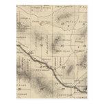 Mapa de la sección de T24S R28E el condado de Tarjetas Postales