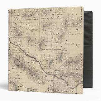 """Mapa de la sección de T24S R28E el condado de Tula Carpeta 1 1/2"""""""