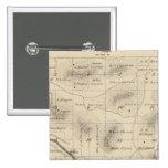 Mapa de la sección de T24S R28E el condado de Tula Pin Cuadrado