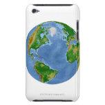 Mapa de la vegetación de Atlántico Norte iPod Touch Case-Mate Protector