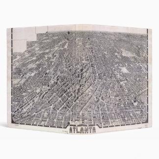 "Mapa de la visión aérea de Atlanta Georgia (1919) Carpeta 1"""