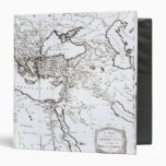 Mapa de la zona oriental del imperio romano