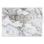 Mapa de la zona oriental del imperio romano tarjeton