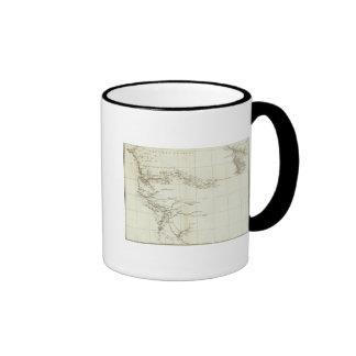 Mapa de las Áfricas occidentales Taza De Café