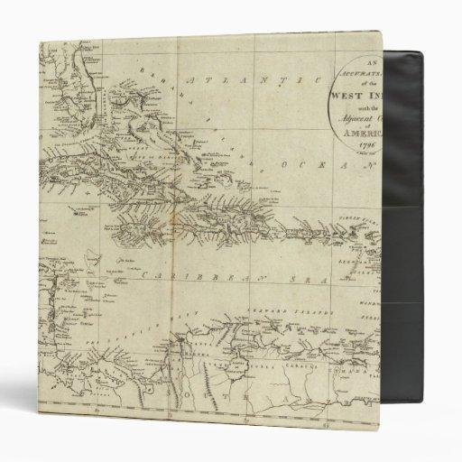 Mapa de las Antillas