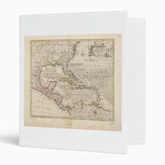 "Mapa de las Antillas de Manuel Bowen (1752) Carpeta 1"""