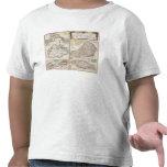 Mapa de las colonias inglesas en el Caribe, pub. p Camisetas