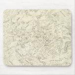 Mapa de las constelaciones 2 tapetes de ratones