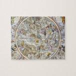 Mapa de las constelaciones cristianas según lo rep puzzle