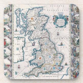 Mapa de las islas británicas 2