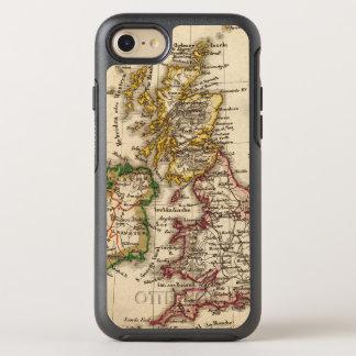 Mapa de las islas británicas funda OtterBox symmetry para iPhone 7