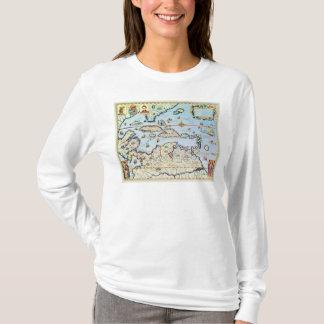 Mapa de las islas caribeñas playera