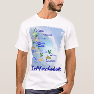 Mapa de las islas de Mortlock Playera