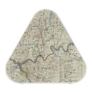 Mapa de las regiones del aceite del condado de Ven Altavoz Bluetooth