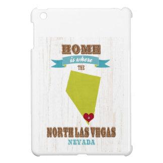 Mapa de Las Vegas del norte, Nevada - casero es do