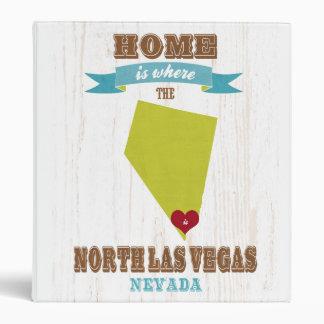 Mapa de Las Vegas del norte Nevada - casero es do