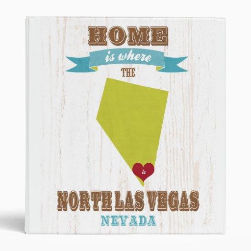 "Mapa de Las Vegas del norte, Nevada - casero es do Carpeta 1"""