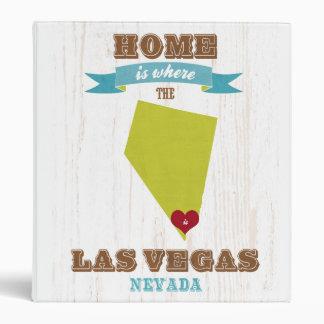 Mapa de Las Vegas Nevada - casero es donde está e