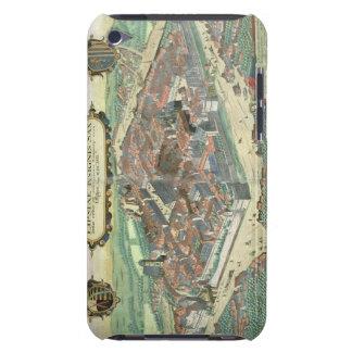 "Mapa de Leipzig, de ""Civitates Orbis Terrarum"" cer iPod Touch Coberturas"