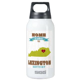 Mapa de Lexington, Kentucky - casero es donde