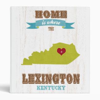 Mapa de Lexington Kentucky - casero es donde