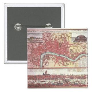 Mapa de Londres Pins