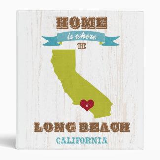 Mapa de Long Beach California - casero es donde