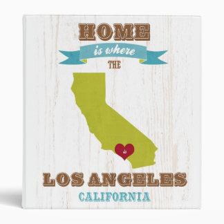 Mapa de Los Ángeles California - casero es donde