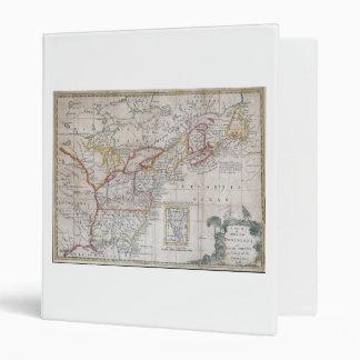 """Mapa de los dominios británicos en 1763 carpeta 1"""""""