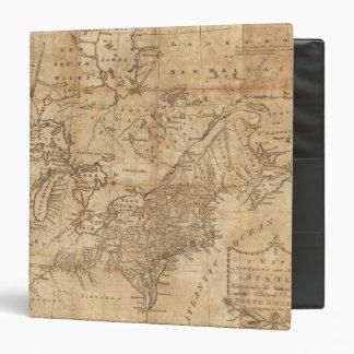 """Mapa de los estados septentrionales y del centro 2 carpeta 1 1/2"""""""