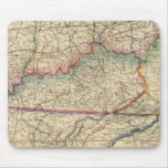 Mapa de los estados sureños de América Tapetes De Ratones