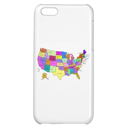 Mapa de los Estados Unidos