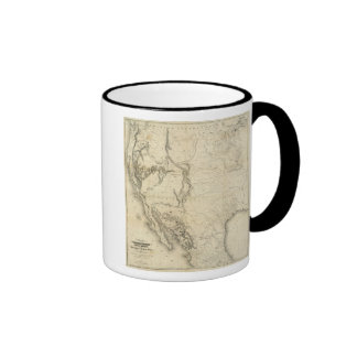 Mapa de los Estados Unidos 2 Taza De Café