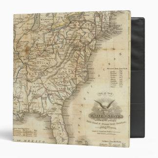 Mapa de los Estados Unidos 3