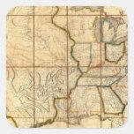 Mapa de los Estados Unidos 3 Colcomania Cuadrada