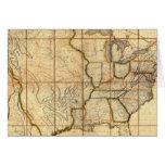 Mapa de los Estados Unidos 3 Tarjetas