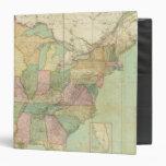 """Mapa de los Estados Unidos 6 Carpeta 1 1/2"""""""