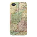 Mapa de los Estados Unidos 6 iPhone 4/4S Carcasas