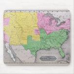 Mapa de los Estados Unidos Alfombrilla De Raton