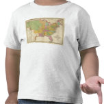 Mapa de los Estados Unidos Camisetas