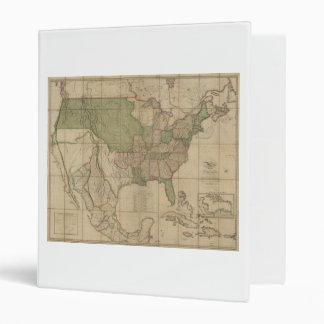 """Mapa de los Estados Unidos de América (1820) Carpeta 1"""""""